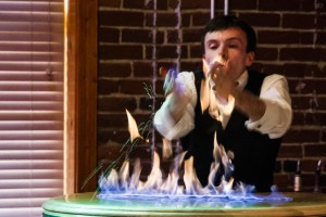 Fire Show at the Mill Top, Noblesville, IN
